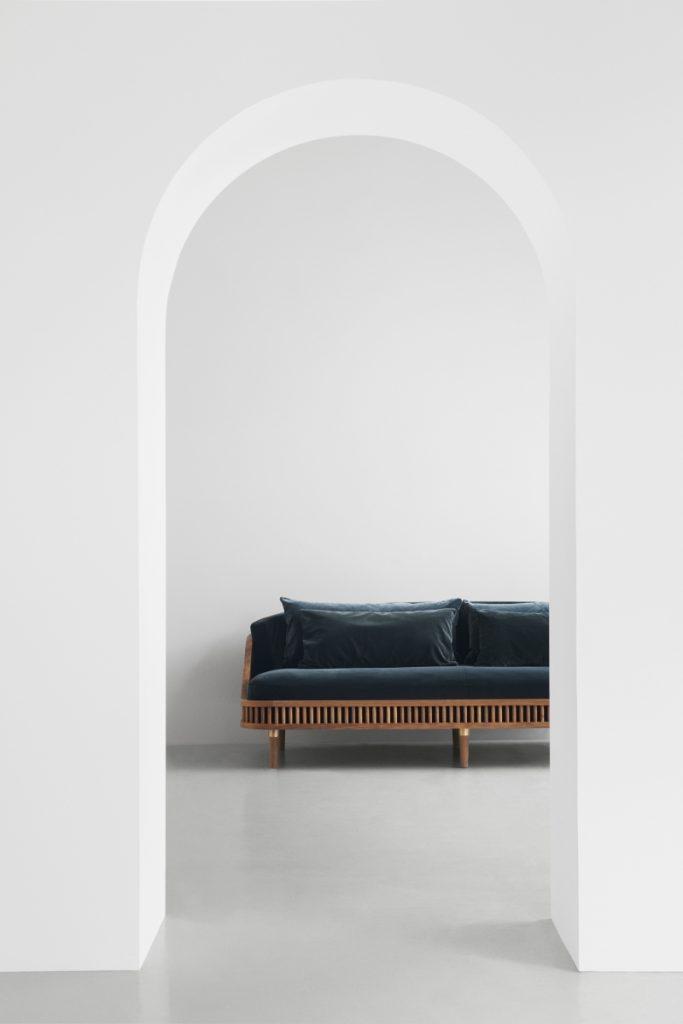 velvet sofa KBH at Porter & Jones