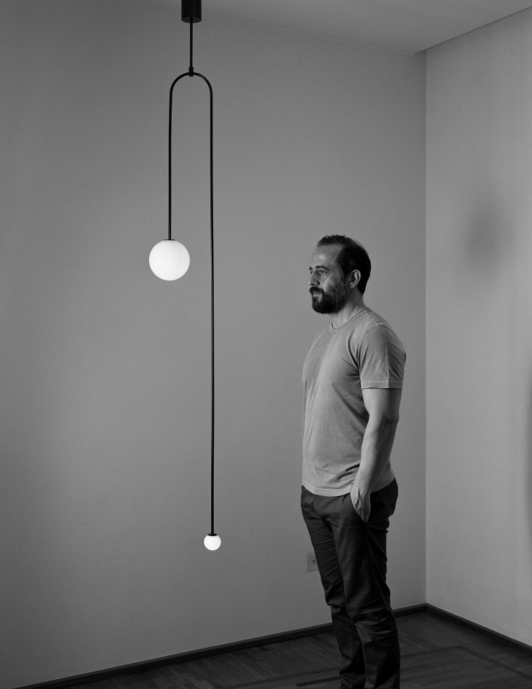 Exclusive in Ireland to Porter & Jones, lighting design by Michael Anastassiades
